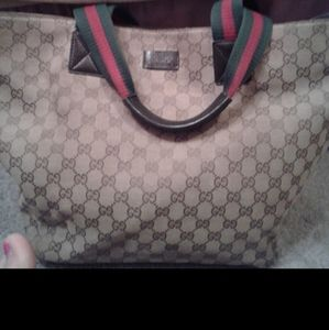 ! Authentic Gucci tote, offer welcome